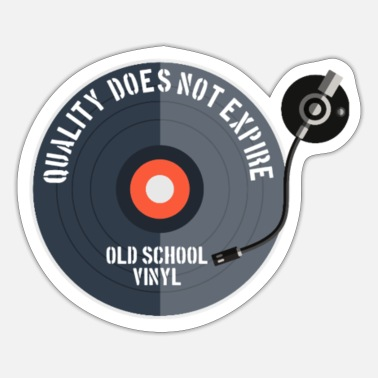 Scrach Old school, quality does not expire - Sticker