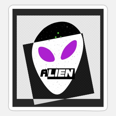Spreadshirtsale Alien - Sticker