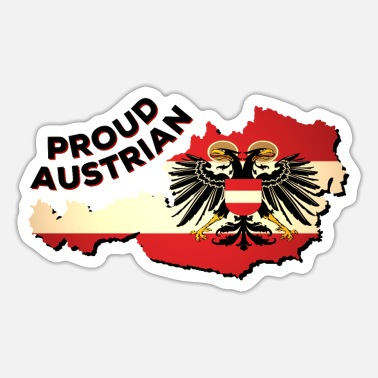 Austrian Heritage Proud To Be From Austria - Sticker