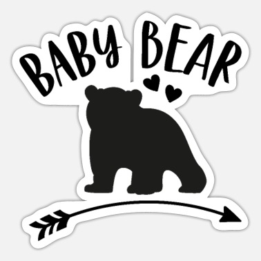 Matching Outfit Baby bear - matching outfit with mom or dad - Sticker