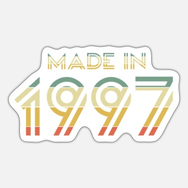 Made In Nineties Made in 1997 - Sticker