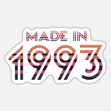 Made In Nineties Made in 1993 - Sticker