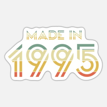 Made In Nineties Made in 1995 - Sticker