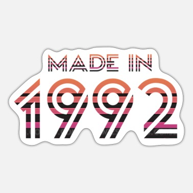 Made In Nineties Made 1992 - Sticker
