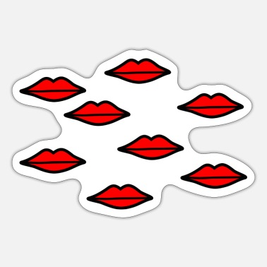 Mouth Mouths - Sticker