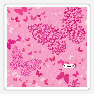 Schleich bayala pattern butterflies - Sticker