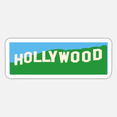 Hollywood Hollywood Hills - Sticker