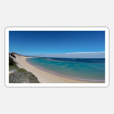 Blue Lagoon Paradise on earth - Sticker