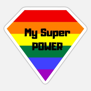 Super Power Mein Super Power LGBT - Sticker