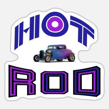 Hot hot rod - Sticker