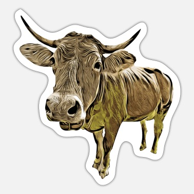 Funny cow - Sticker