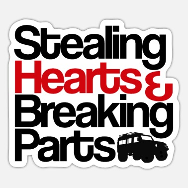 Steal Stealing Hearts - Sticker
