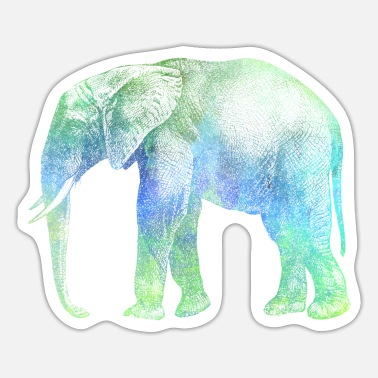 Afrika Elefant Afrika - Sticker
