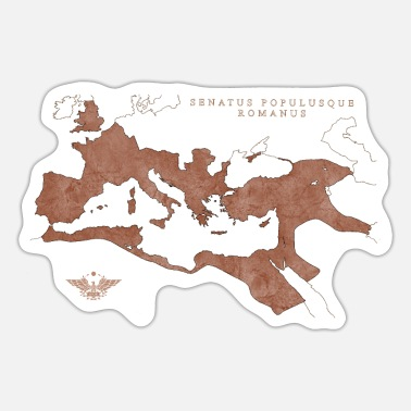 Empire Map of the Roman Empire | Map of Roman Empire # 2 - Sticker