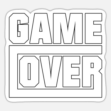 Game Over Game over - gamen - Sticker