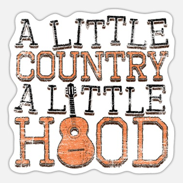 Country Muziek Country muziek - Sticker