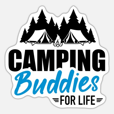 Camping camping - Sticker