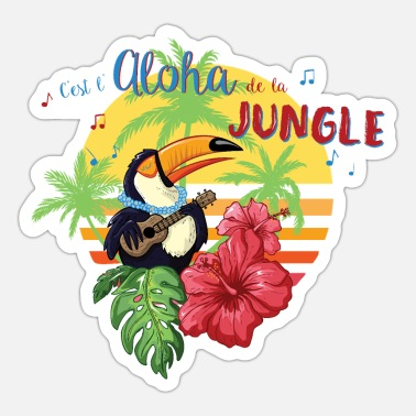 Aloha Ketting Aloha of the Jungle - Sticker
