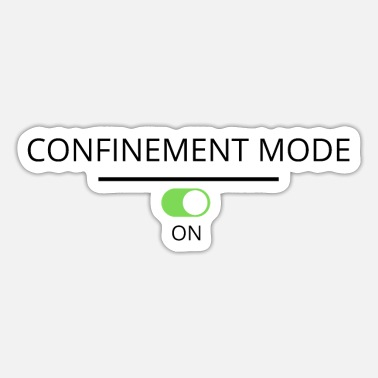 Container Containment mode on - Sticker