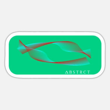 Abstract abstract - Sticker