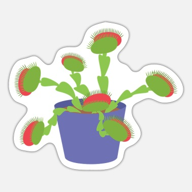 Plant-grounds Carnivorous plant - Sticker