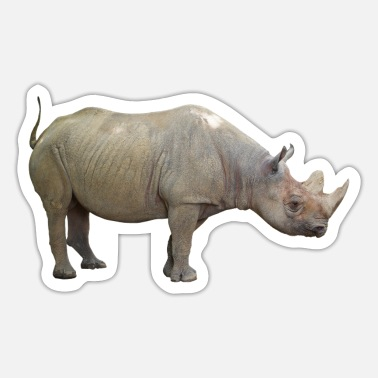 Virility The rhino is critically endangered - Sticker