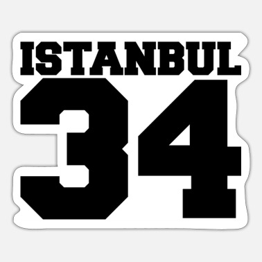 Turkey ISTANBUL - TURKEY - TURKEY - TURKEY - Sticker