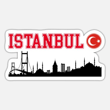 Turkey ISTANBUL SKYLINE - TURKEY - TURKEY - TURKEY - Sticker