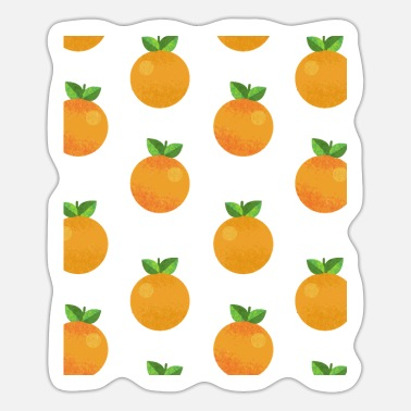 oranges, tangerines, fruit, fruits - Sticker