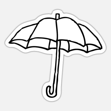 Umbrella umbrella - Sticker