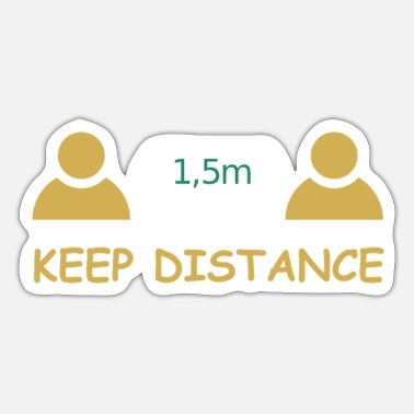 Robert Koch Distance2 - Sticker