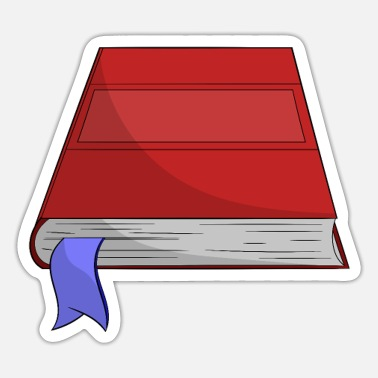 Books bookworm book reading bookworm library - Sticker