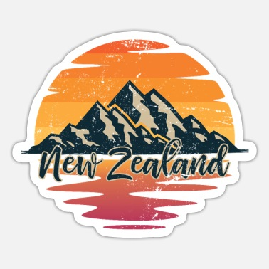 New Zealand New Zealand New Zealanders - Sticker