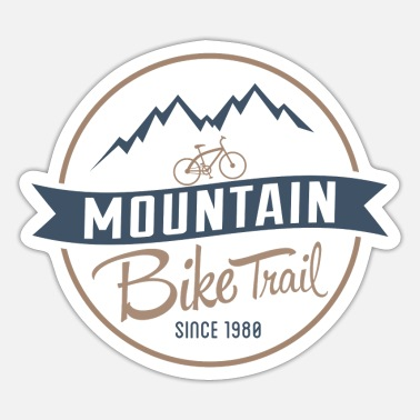 Trailer Trash Mountainbike-Trail - Sticker