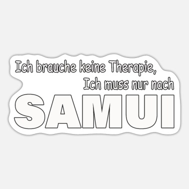 Ko Tao Therapie Samui - Sticker