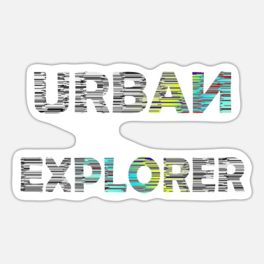 Photograph-jetzt-alle-mal URBAN EXPLORER Lost Places Hunter Geschenkidee - Sticker