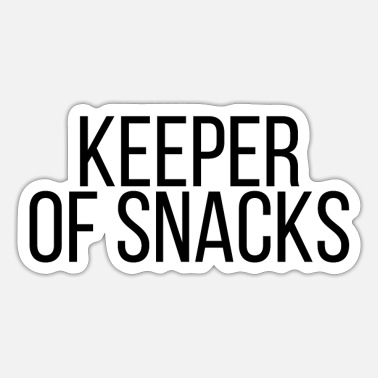 Snack Keeper of snacks - Sticker