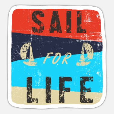 Harbour Sail for life - Sticker