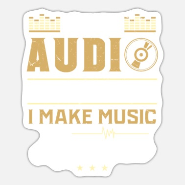 Audio AUDIO ENGINEER: Awesome Music - Sticker