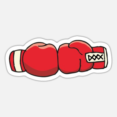 Boxing Gloves boxing gloves - Sticker