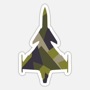 Gripen JAS 39 Gripen jet fighter - Sticker