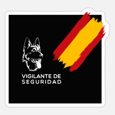 Security Guard Security guard - Sticker