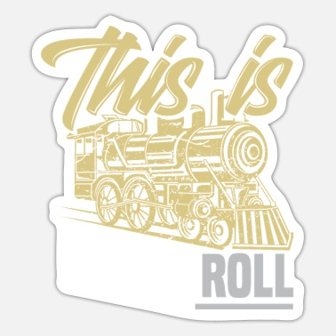 Training Train train lover trains train driver train driver - Sticker