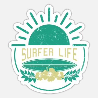 Surfer Life - Surfing - Sticker