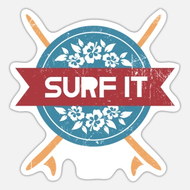 Surf It - surfing - Sticker