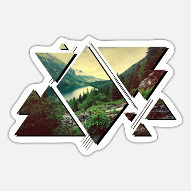 Nature adventure forest wilderness - Sticker