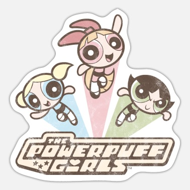 Powerpuff Girls Vintage - Sticker