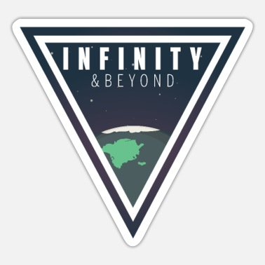 Beyond Infinity And Beyond - Sticker
