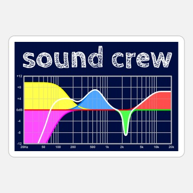 Parametric sound crew - Parametric Equalizer - hgr1 - Sticker