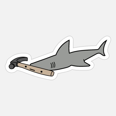 HammerShark - Sticker